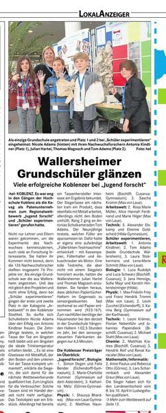 Rheinzeitung_Artikel_Jugend_forscht